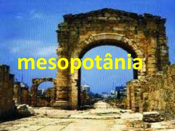 mesopotânia
