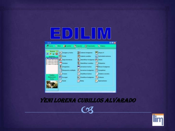 EDILIM<br />YENI LORENA CUBILLOS ALVARADO<br />