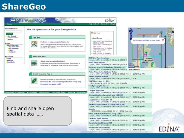 ShareGeoFind and share openspatial data ……