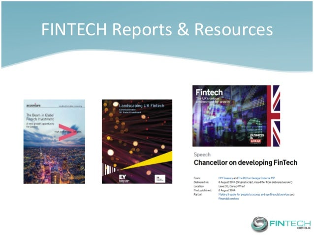FINTECH Reports & Resources