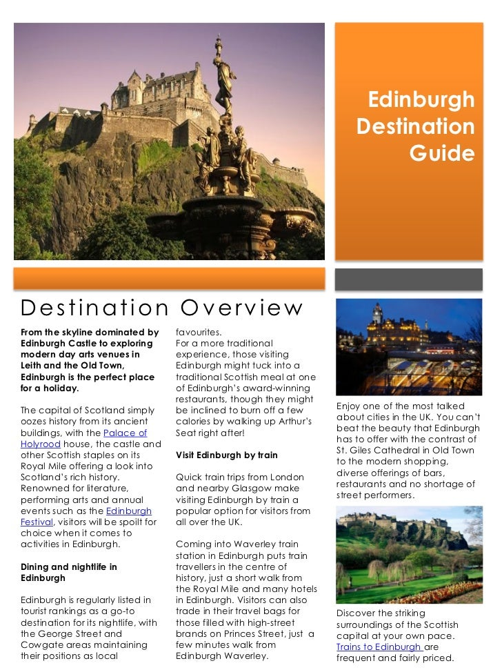 Edinburgh                                                                               Destination                       ...