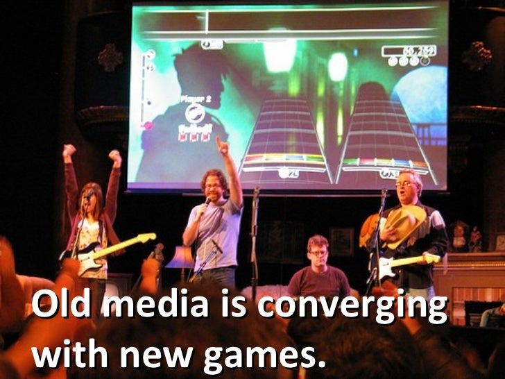 Old media is converging with new games.