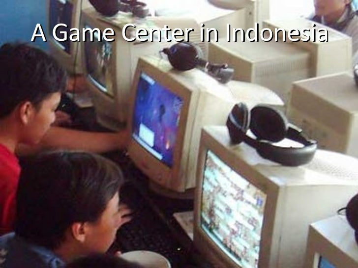 A Game Center in Indonesia