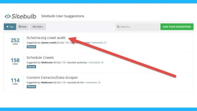 'Schema.org Crawl Audit' What does that mean?