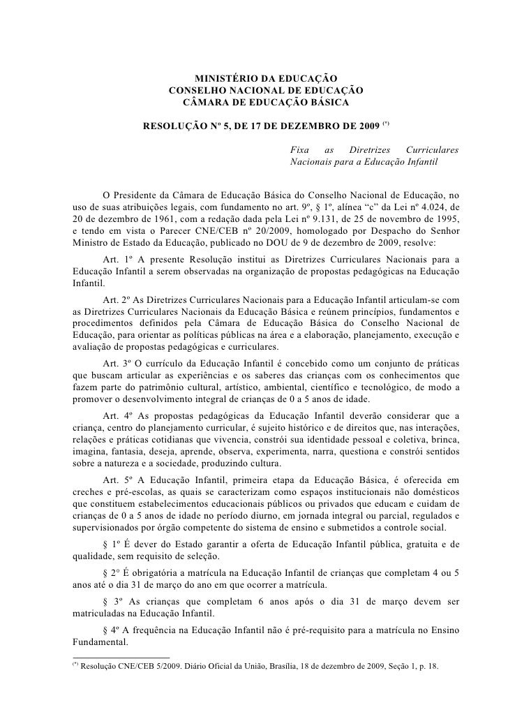 MINISTÉRIO DA EDUCAÇÃO                              CONSELHO NACIONAL DE EDUCAÇÃO                                CÂMARA DE...