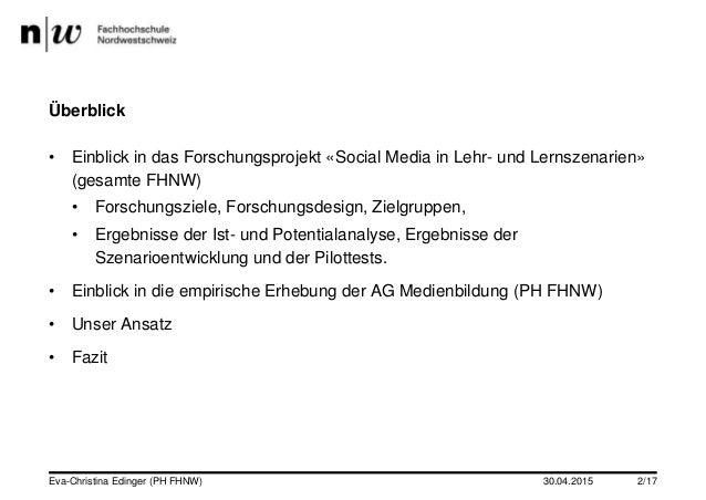 Social Media in Studium und Lehre (Folien Dr. des. Eva-Christina Edinger) Slide 2