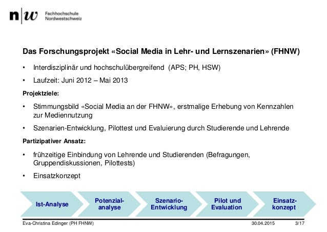 Social Media in Studium und Lehre (Folien Dr. des. Eva-Christina Edinger) Slide 3