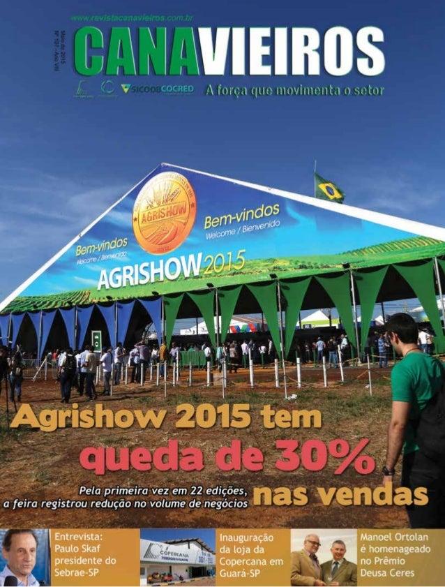 Revista Canavieiros - Maio de 2015 1