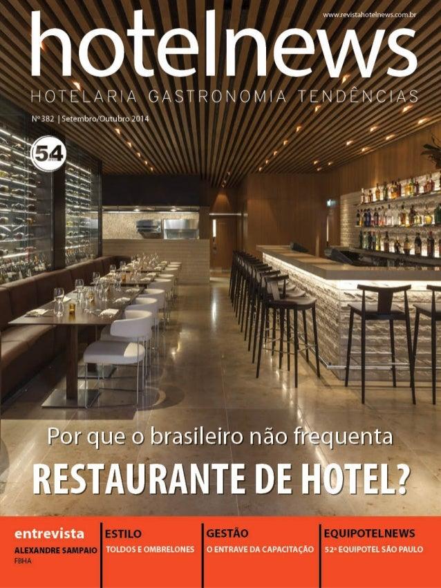 POR QUE OS BRASILEIROS NÃO FREQUENTAM RESTAURANTES DE HOTÉIS?