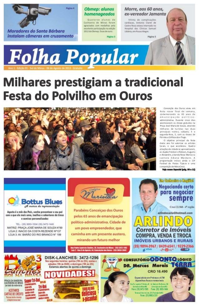Milhares prestigiam a tradicional Festa do Polvilho em Ouros Especialista em Prótese e ATM Aparelhos fixos e removíveis Tr...