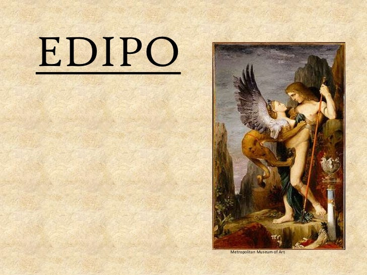 EDIPO        Metropolitan Museum of Art