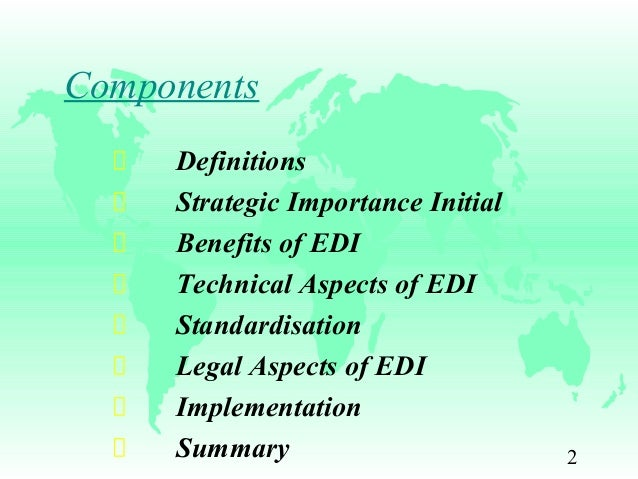 an overview of electronic commerce ec electronic data interchange edi and facnet Electronic commerce (ec) and electronic data interchange (edi) represent one of today's fastest growing areas of business technology 1 government has recognized the.