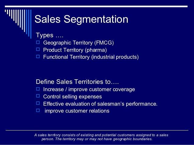 Fmcg Space Management : Sales management