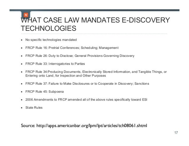 ediscovery for the small or solo law firm