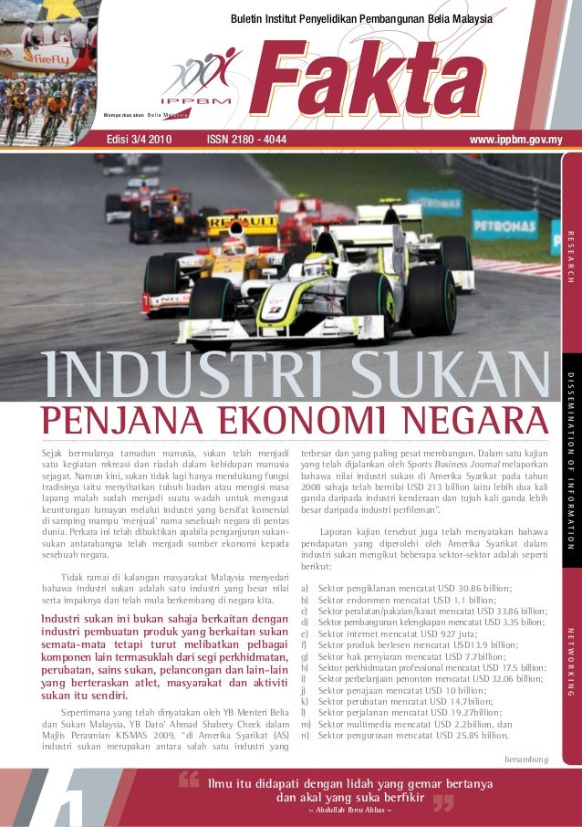 Buletin Institut Penyelidikan Pembangunan Belia Malaysia               Memperkasakan                Edisi 3/4 2010      ...
