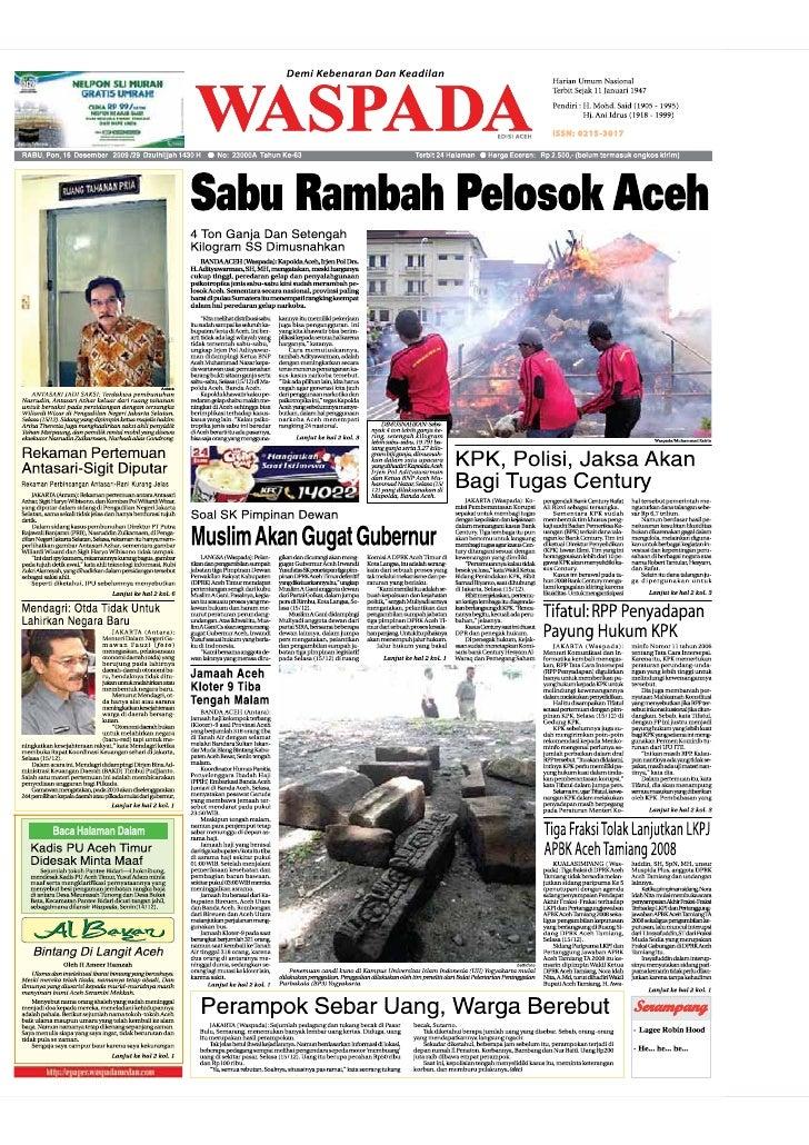 Edisi 16 Des Aceh
