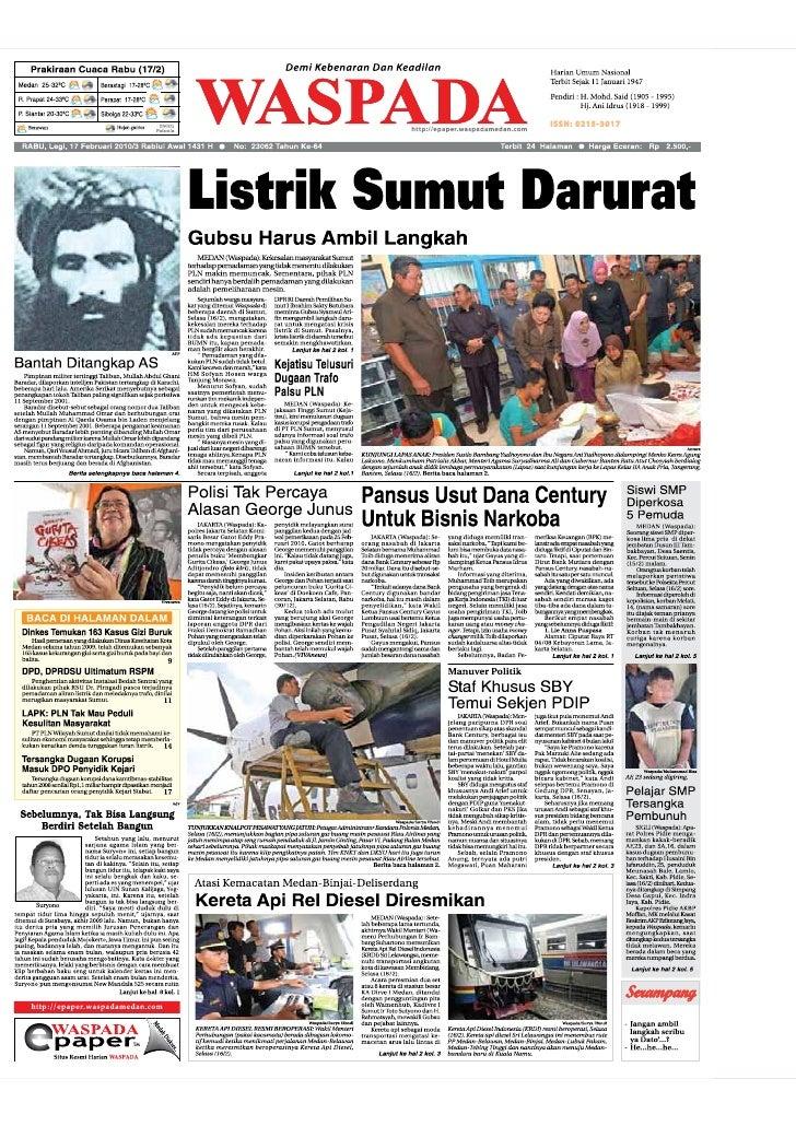 Edisi 17 Feb Medan
