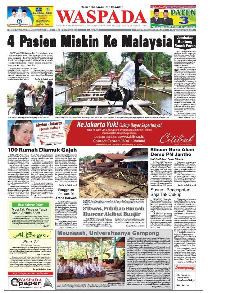 Edisi 5 April Aceh