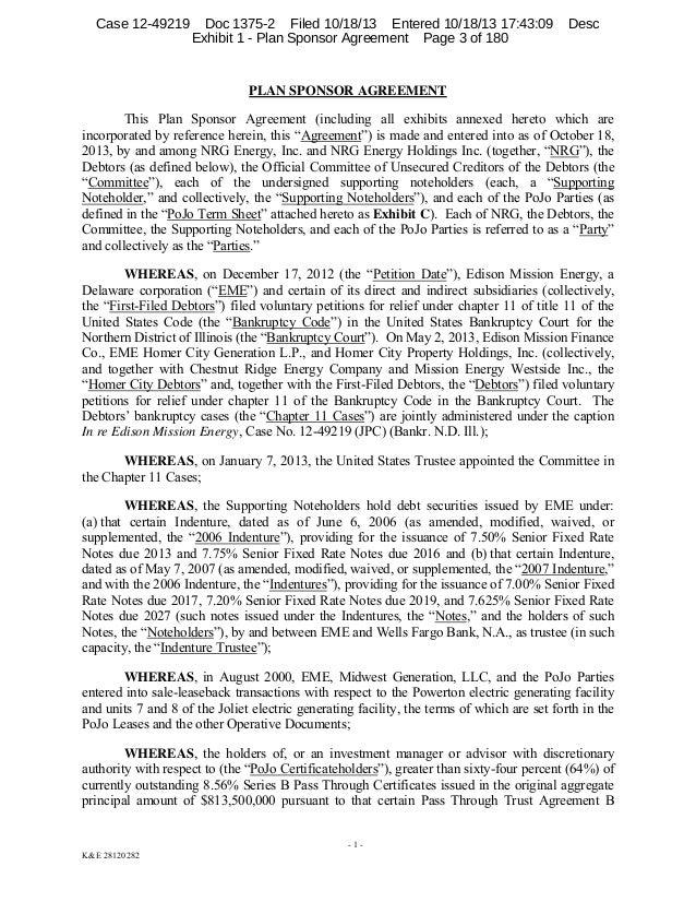 Doc460595 Sponsorship Agreement Letter Sponsorship Agreement – Sponsorship Agreement Letter