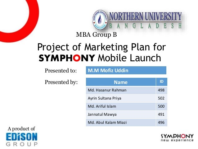 Edison symphony marketing-plan