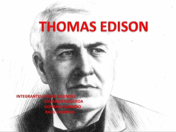 Edison thomas for Edison home show