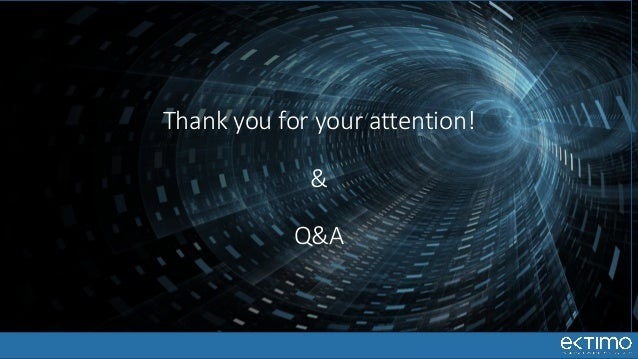 Thank you for your attention! & Q&A