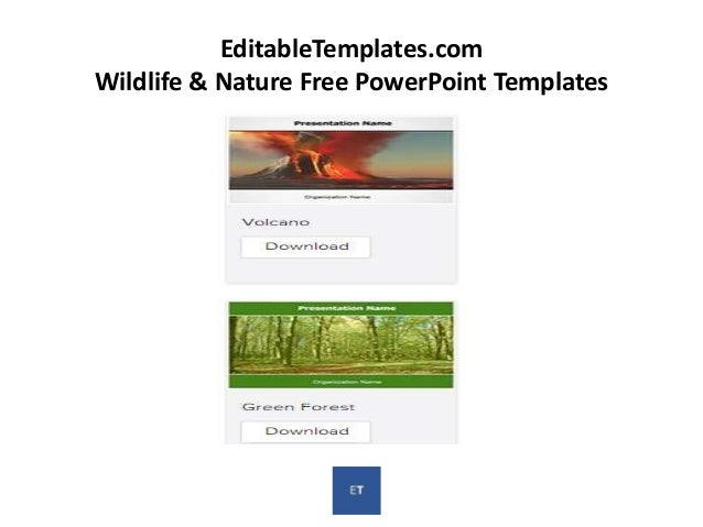 Editabletemplates free powerpoint templates editabletemplates event planning free powerpoint templates 12 editabletemplates wildlife toneelgroepblik Gallery
