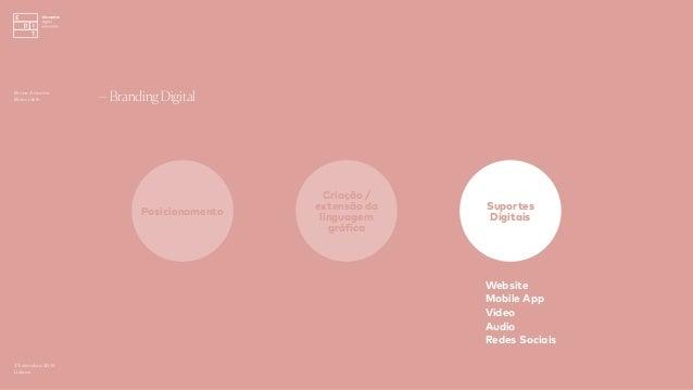3 Setembro 2016 Lisboa —Branding Digital Posicionamento Criação / extensão da linguagem gráfica Suportes Digitais Website ...