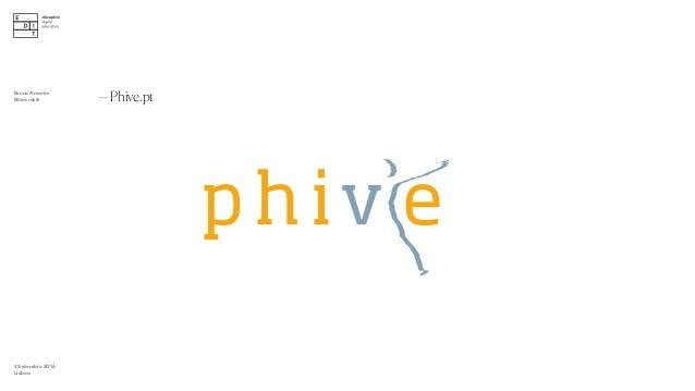 3 Setembro 2016 Lisboa —Phive.pt ∫ Bruno Amorim Bürocratik