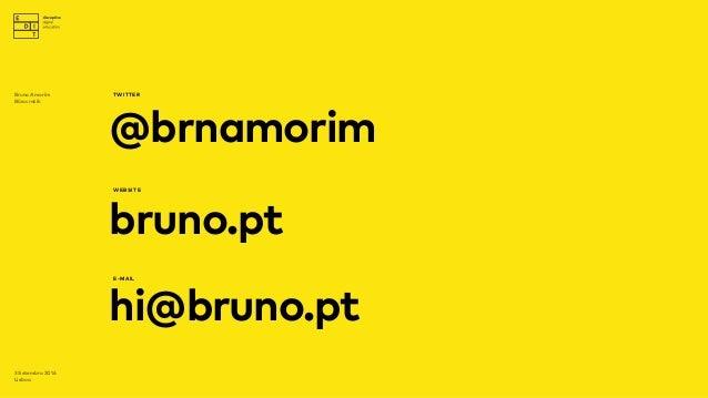 Industry Sessions by EDIT.   Talk #1 - Bruno Amorim