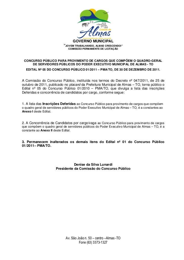 """GOVERNO MUNICIPAL                             """"JOVEM TRABALHANDO, ALMAS CRESCENDO!""""                                COMISSÃ..."""