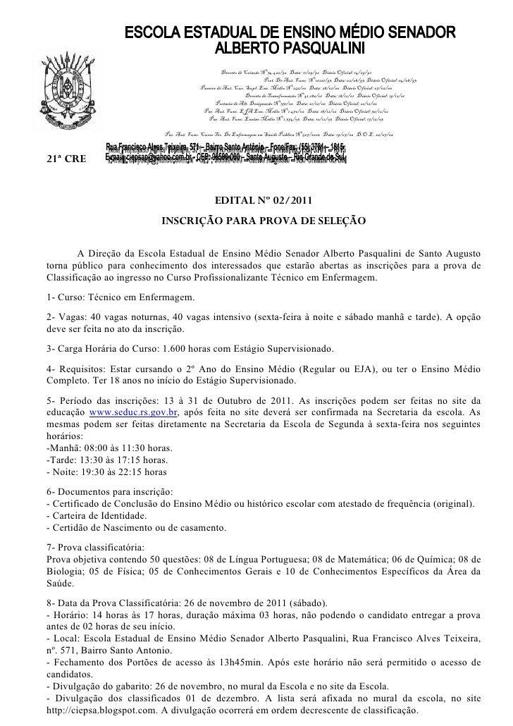 Decreto de Criação Nº 34.462/92 Data: 11/09/92 Diário Oficial: 14/09/92                                                   ...