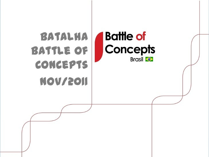 BatalhaBattle of Concepts  Nov/2011