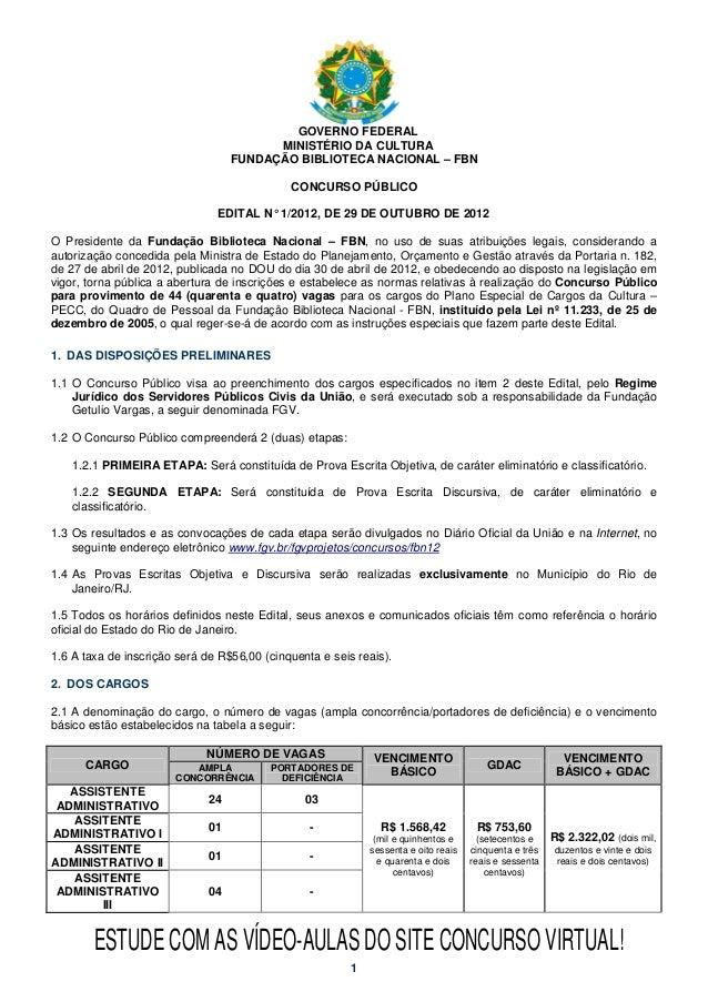 GOVERNO FEDERAL                                         MINISTÉRIO DA CULTURA                                   FUNDAÇÃO B...