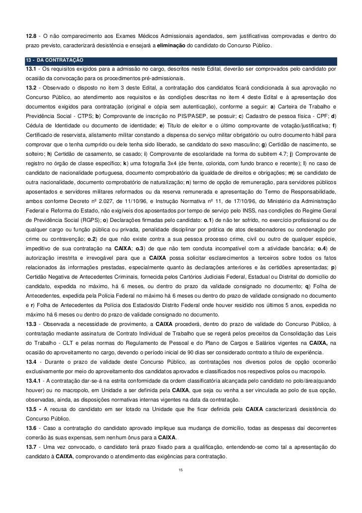 edital cef 2012 n 237 vel superior