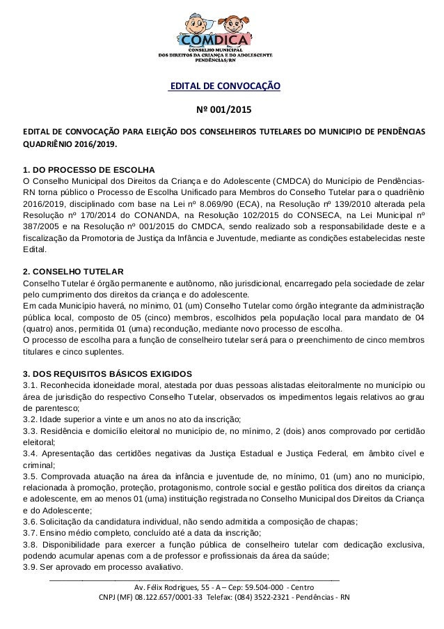 _______________________________________________________________________ Av. Félix Rodrigues, 55 - A – Cep: 59.504-000 - Ce...