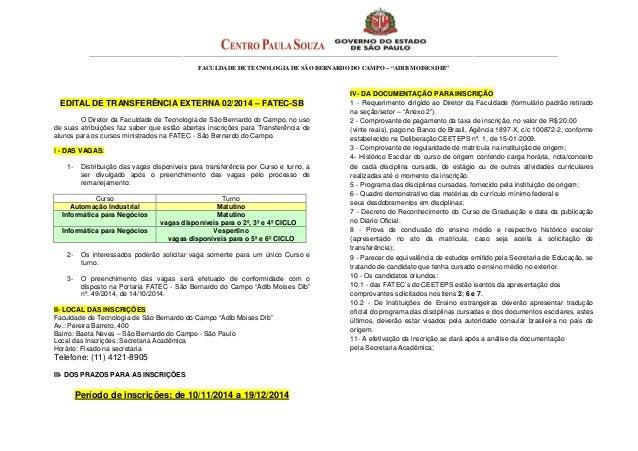 Edital de transferência externa.doc 1º sem