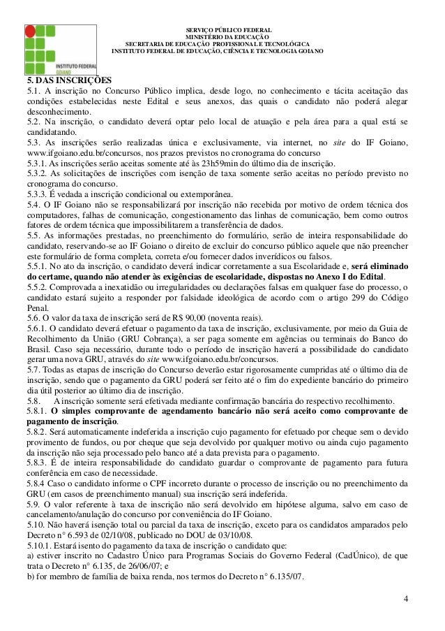 Edital docente 04 2014 for Concurso docentes exterior