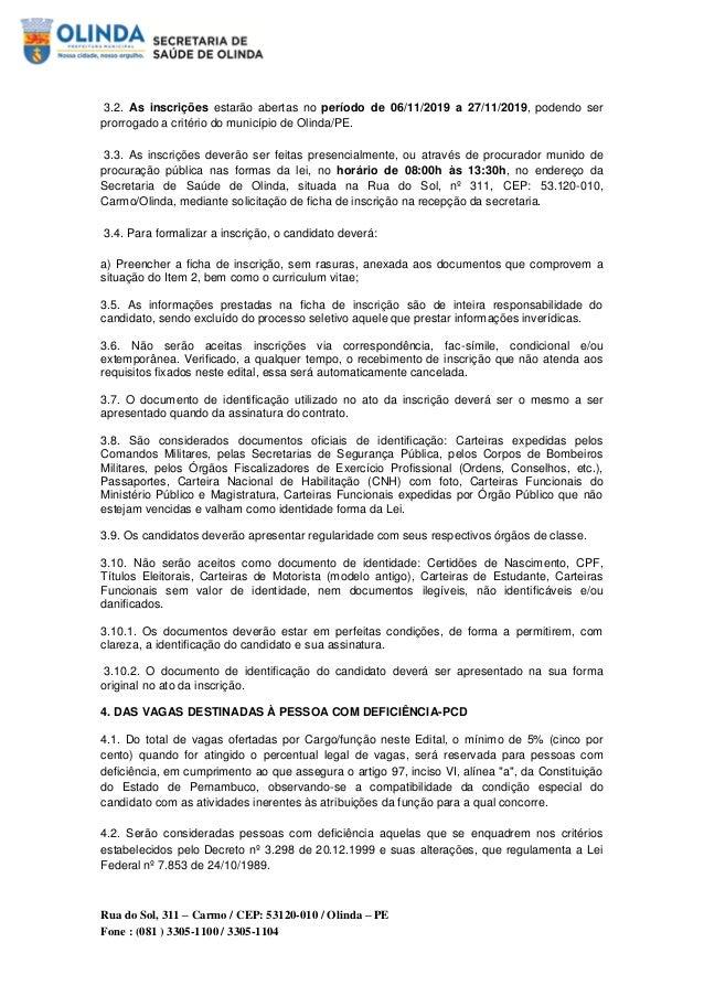 Prefeitura de Olinda abre seleção com salários até R$ 7 mil Slide 2