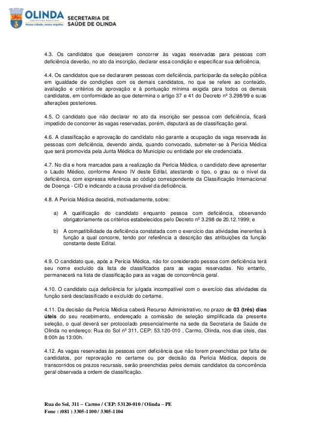 Prefeitura de Olinda abre seleção com salários até R$ 7 mil Slide 3