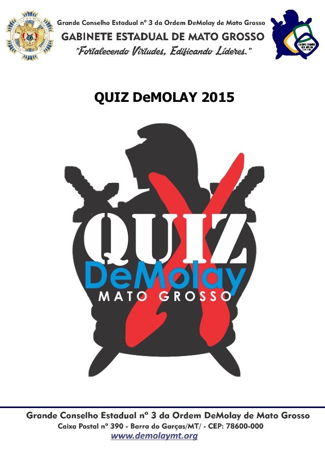 QUIZ DeMOLAY 2015