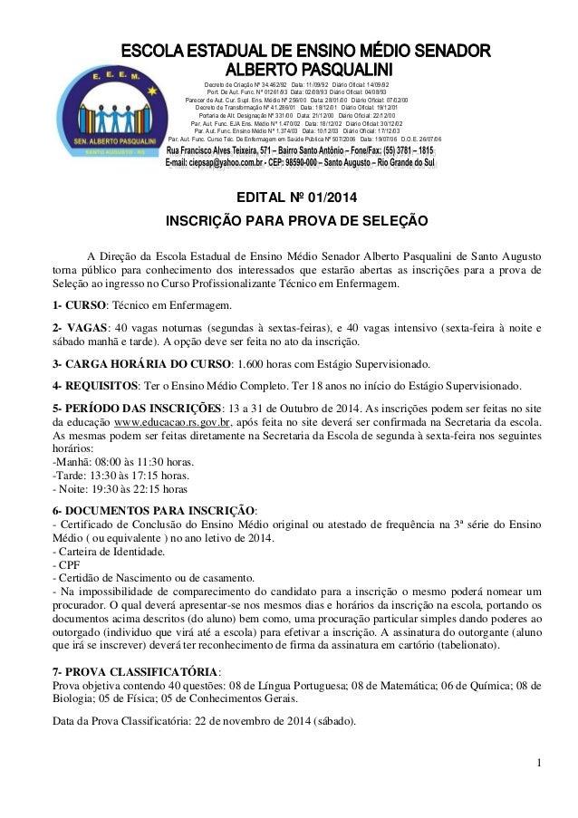 1  Decreto de Criação Nº 34.462/92 Data: 11/09/92 Diário Oficial: 14/09/92  Port. De Aut. Func. Nº 01261/93 Data: 02/08/93...