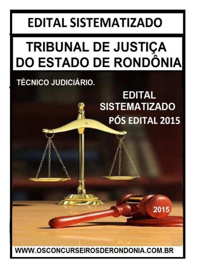 EDITAL SISTEMATIZADO OS CONCURSEIROS DE RONDÔNIA WWW.OSCONCURSEIRSODERONDONIA.COM.BR 2/4 LÍNGUA PORTUGUESA (CONHECIMENTOS ...