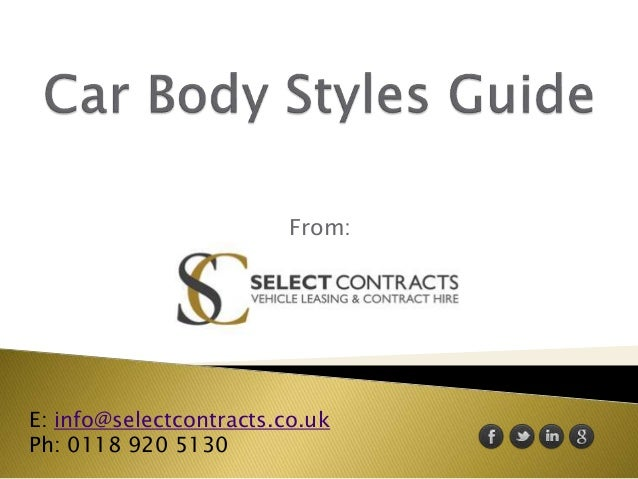 From: E: info@selectcontracts.co.uk Ph: 0118 920 5130