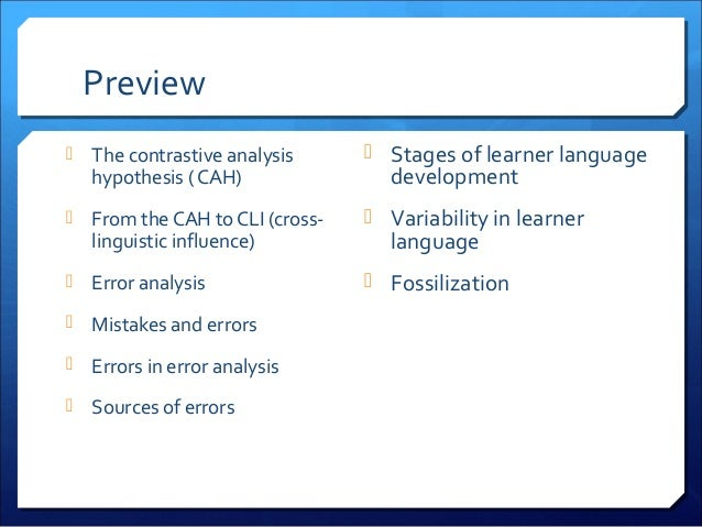 Principles & Practice in Language Learning - Chapter 9: Cross-Linguistic Influence Slide 2