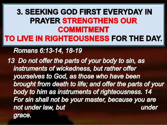"""""""But seek ye first the kingdom of God, and his righteousness; and all these things shall be added unto you. """" Matthew 6:33..."""