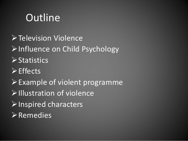 "the effect of television violence on children Statement on the impact of entertainment violence on children this statement  noted that ""entertainment violence can lead to increases in bfb_14indd 281."