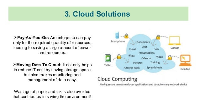 Ways Cloud Computing is Turning Into Green Solution