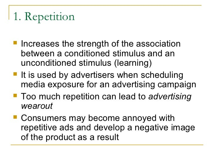 Classical Conditioning In Marketing/Advertising