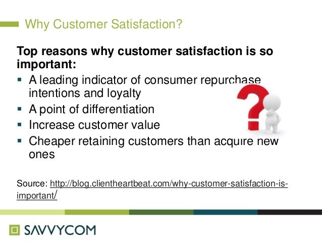 improving customer satisfaction Customer satisfaction is one of the most important metrics in business that not  only helps boost sales and generate revenue but is also a key.